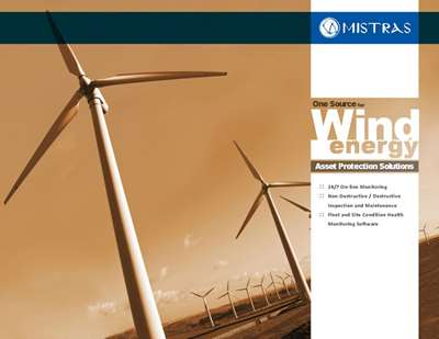 MISTRAS Advanced NDT Services for Wind Energy Brochure