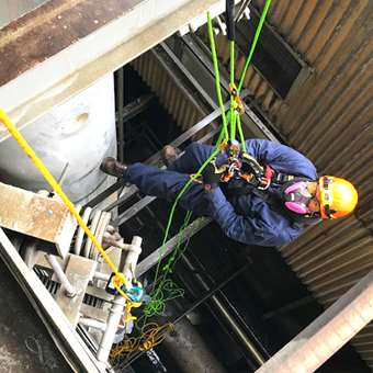 Power Plant Rope Access
